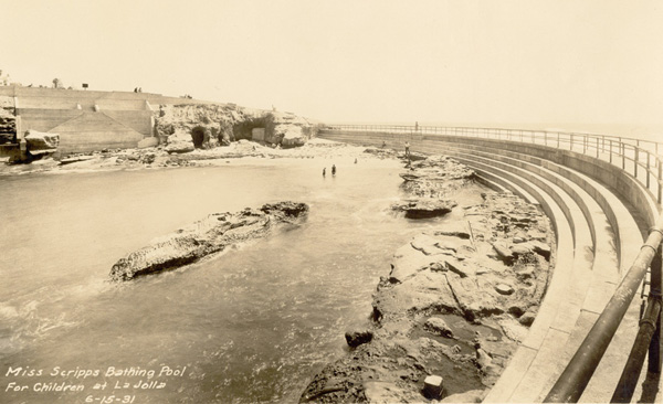 Miss Scripps Bathing Pool for Children at La Jolla on June 15, 1931